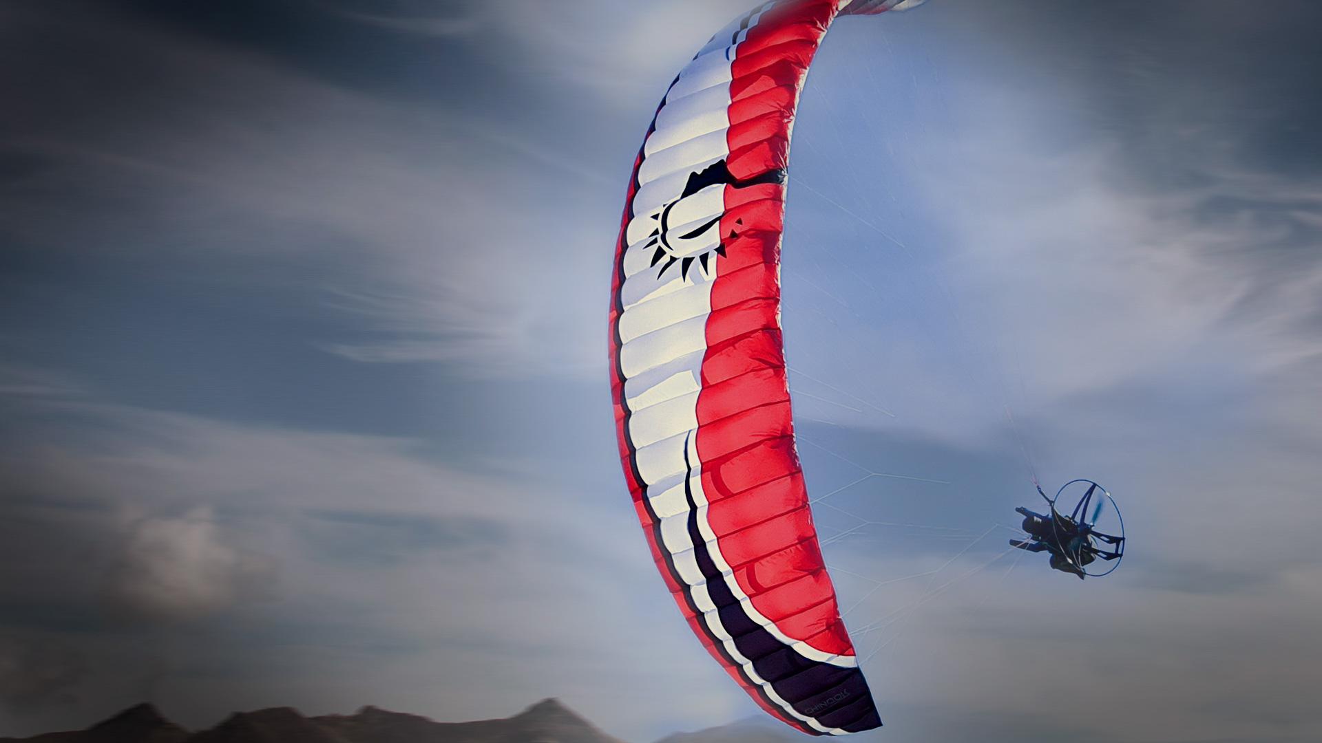 Chinook 2.8 RC Paraglider Cefics Punkair Skyman