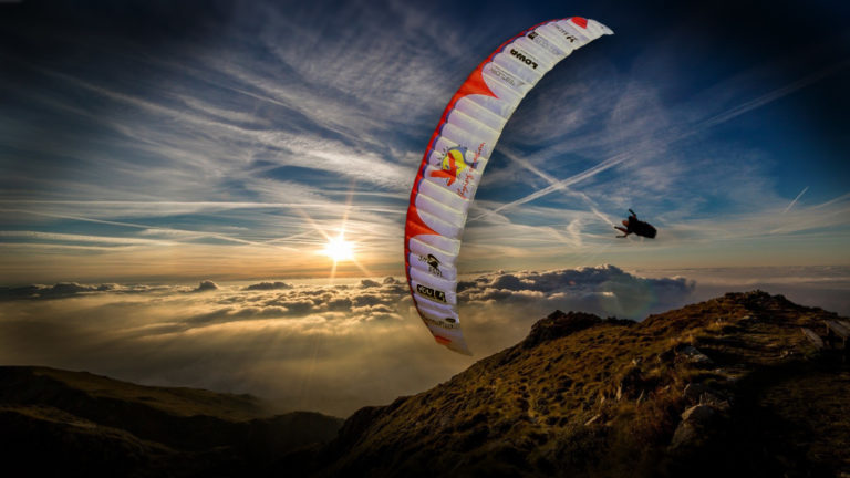 The Eagle RC Gleitschirm Cefics Punkair Skyman
