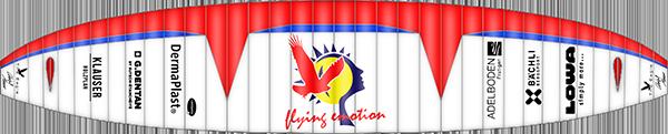 Layout Eagle RC Gleitschirm Cefics Punkair Skyman