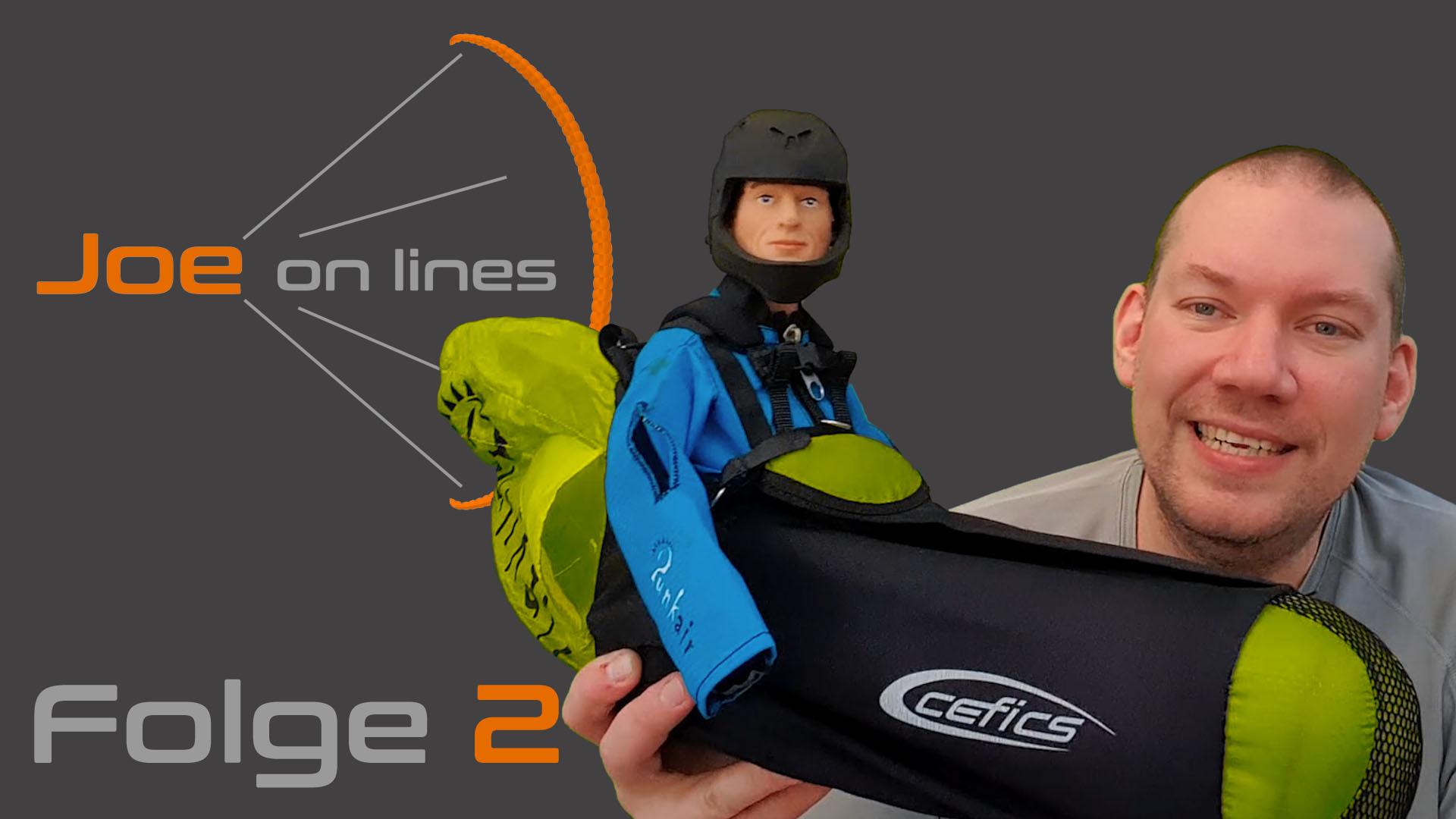 Jone on lines - Folge 2. Das Format für RC-Paraglider und Zubehör
