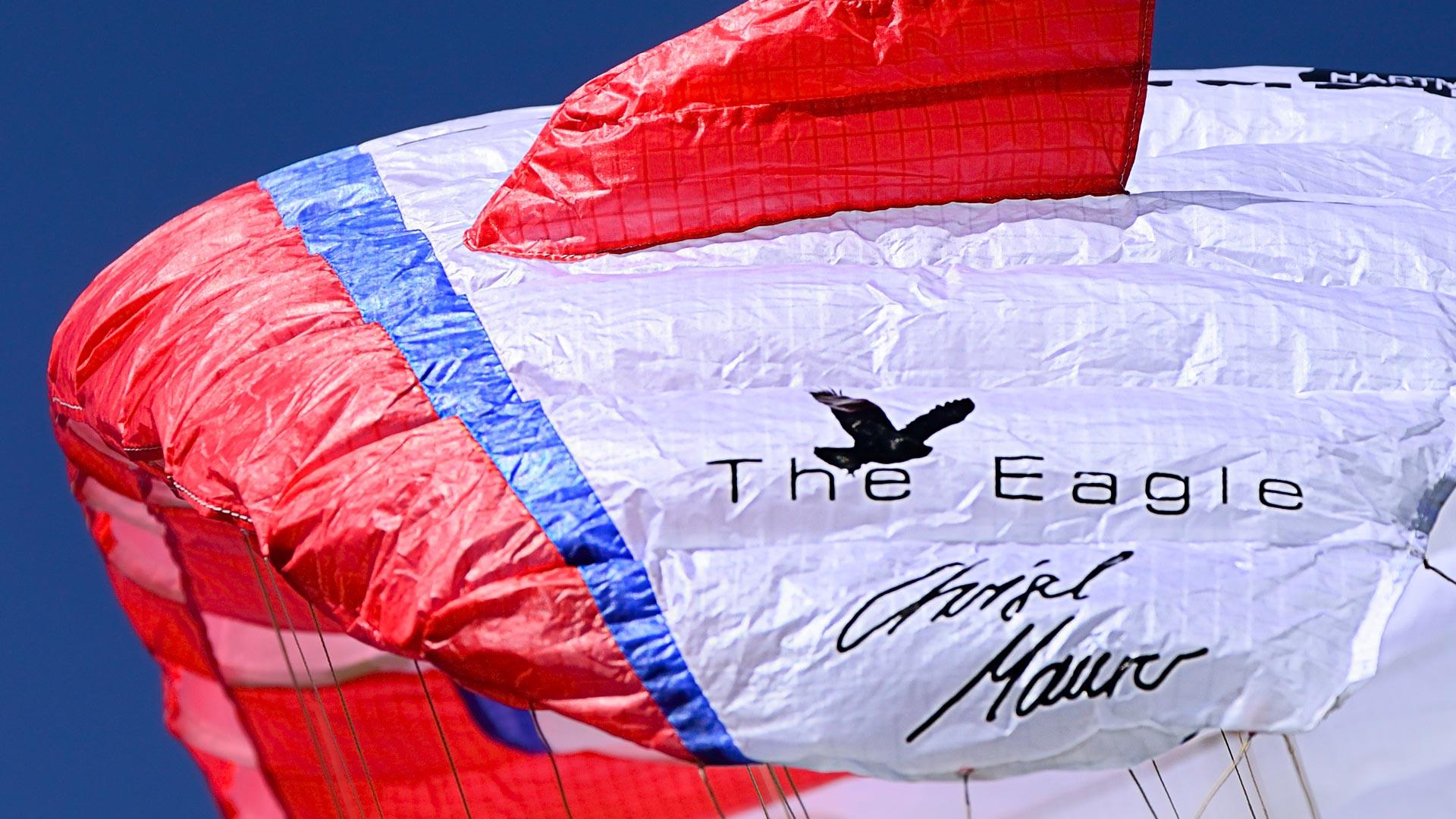 The Eagle Chrigel Maurer Unterschrift Xalps